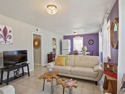 Photo for NOLA Dreams, 3 Bedroom Unit in a Double, Can Sleep 6!