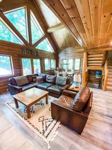 Photo for RENTALS BEGINNING IN AUGUST! Updated Boyne Mountain Cabin, Direct Ski-Out!