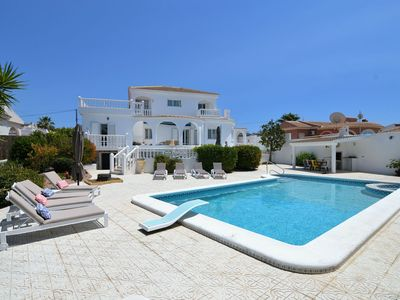 Photo for Detached villa with large private swimming pool, spacious garden and several seating areas