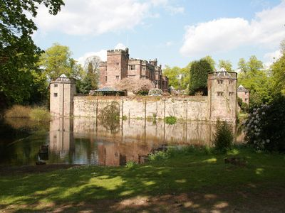 Photo for stunning moated castle built in 1275 in beautiful countryside with amazing views