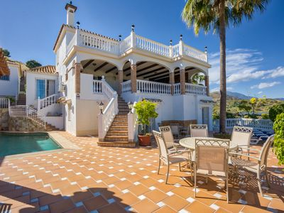Photo for Beautiful Villa with private pool in Puerto Banus, Marbella, Spain