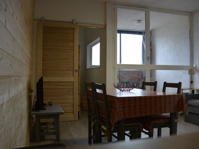 Photo for Large studio 4 places Pra Loup 1500 completely renovated, close to the lifts