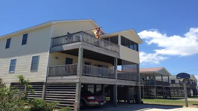 Photo for Outer Banks, family-friendly beach home. Walking distance to ocean front!