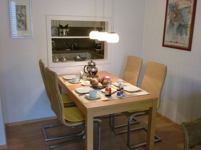 """Photo for Apartment """"dune"""" on Langeoog, 2 rooms, kitchen, bathroom, 500m to the beach"""