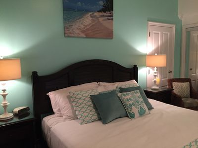 Photo for Just Renovated Romantic King Studio on Grace Bay