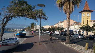 Photo for Apartment ideally located at Cros de Cagnes 50 m from the sea