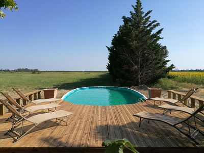 Photo for In Provence, superb house in the countryside with swimming pool in a Mas of character
