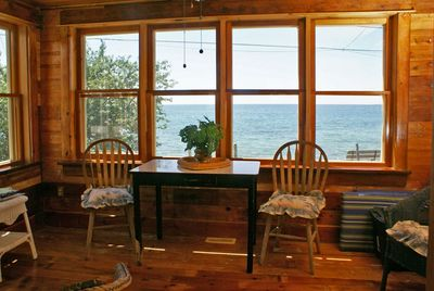 Sunroom with amazing view of Lake Ontario