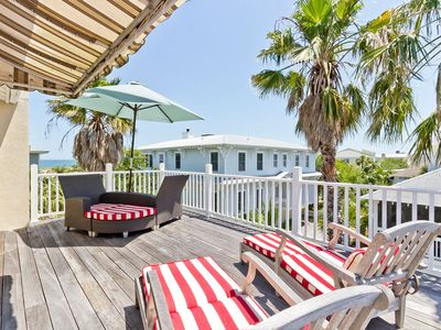 Photo for Ocean Views, Luxurious Home on Main Beach with Hot Tub, Dual Sun Rooms, Sun Deck, and Covered Patio