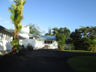 """Photo for """"THE ARECAS"""" a great place in a Beautiful Hilo location!"""