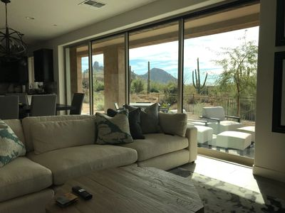 Photo for BRAND NEW - Ridge At Troon North with stunning Pinnacle Peak and Sunset Views!