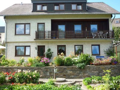 Photo for Quietly situated apartment in the Sauerland with private terrace and a woodstove