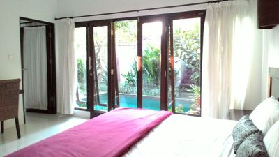 Photo for 2 bedroom for family pool villa