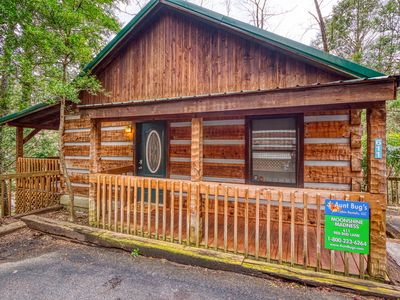 Photo for Moonshine Madness cabin is withing walking distance to downtown Gatlinburg