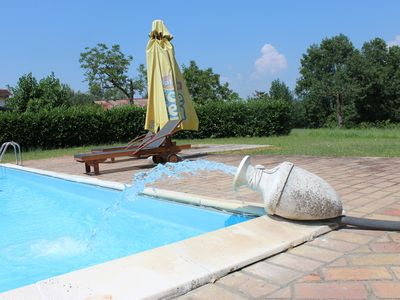 Photo for Apartment in farmhouse, shared swimming pool, between Rome and Naples