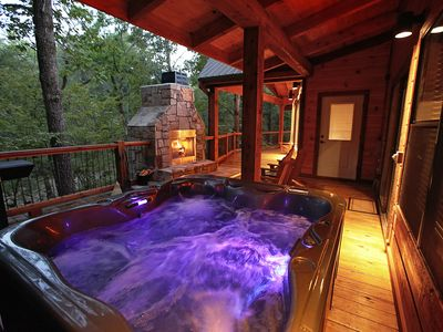 Photo for Sunset Creek Spa Cabin - Luxury Spa Cabin with Wet Steam Spa with Aromatherapy..