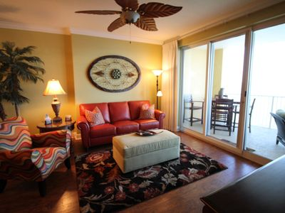 Photo for Spectacular beachfront condo! Front row beach chairs included!