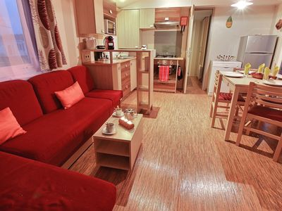 Photo for FAMILY MOBILHOME, WELL EQUIPPED FOR 6/8 people