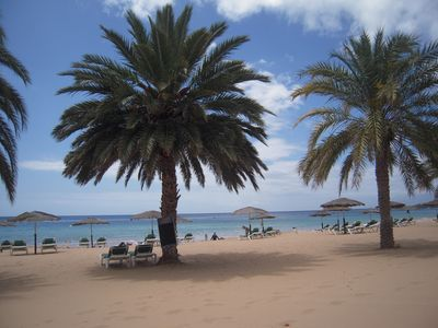 Photo for real Canarian finca with great sea and Teide views, pool, barbecue, parking