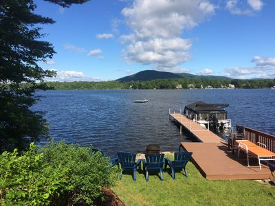 Photo for Lake Winnipesaukee Waterfront for 12 with Outstanding Southwest Views