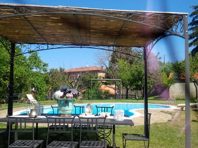 Photo for YELLOW apartment in Villa Don Agostino with swimming pool