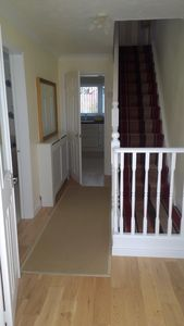 Photo for Detached Home 10 mins from Bournemouth Beach with Unlimited Wi-Fi...Smart Tv's