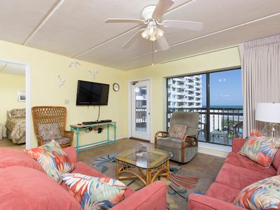 Photo for Saida III 806 - Cozy Oceanfront Condo with All the Comforts of Home, Beachfront Pools & Spas
