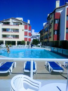 Photo for Cozy apartment in a condominium in front of the sea- praia dos Ingleses