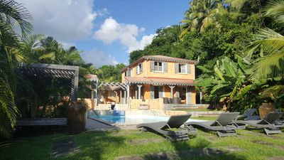 Photo for VERY NICE VILLA WITH SWIMMING POOL FOR 12 PEOPLE IN GOSIER