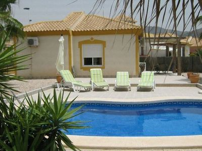 Photo for Holiday house with a private swimming pool and a splendid view