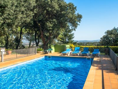 Photo for Costabravaforrent Carrió, house for 14 with garden, private pool, BBQ