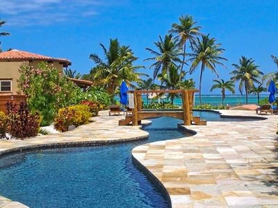 Photo for Luxurious Seascape Villa 5. Daily Housekeeping, 300' Beach, Pool, Tennis...