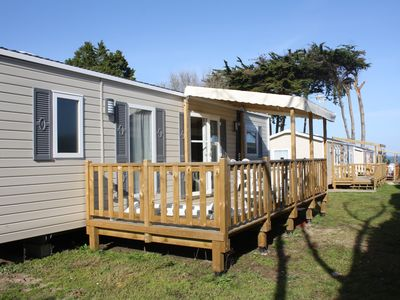 Photo for The Quiberonnais Mobilhome 4/6 people in the holiday village of Conguel