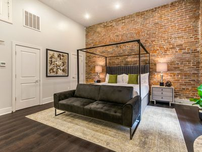 Photo for Ultra Luxe Studio | KING BED, FUTON & FULL KITCHEN* - The Easy Brees-y