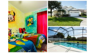 Photo for Stunning Rental in Kissimmee w South Facing Pool / minutes from WDW FREE WIFI