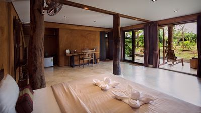 Photo for Pillar room in traditional wooden house