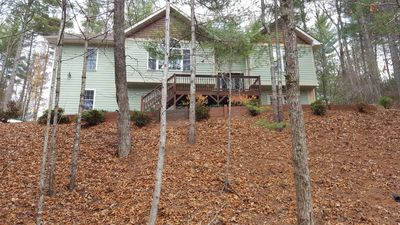Photo for Modern 3 BR Asheville home with lots of privacy and solitude -close to the city