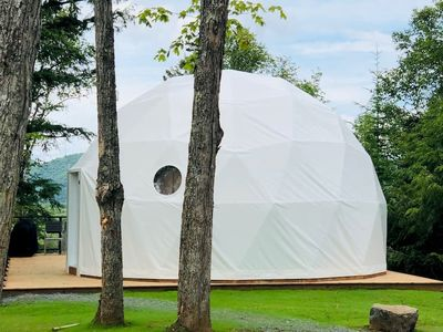 Photo for Luxury Dome 1 at Bel Air Tremblant: 5 mins to Village, pool, tennis, Spa, Gym, Jacuzzi