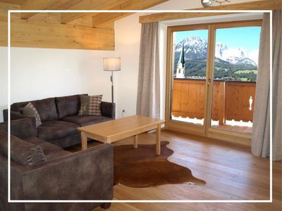 """Photo for Apartment eagle nest 80m² / 2 bedrooms / 2 baths / balcony - imperial chalet """"The Golden Eagle"""""""