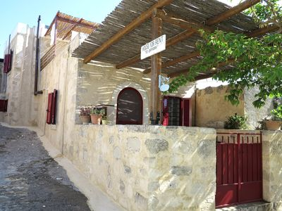 Photo for Beautifully Renovated Traditional Stone House in Vori, South Crete, Greece.