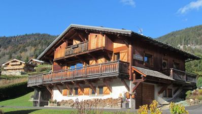 Photo for Authentic Savoyard chalet decorated with noble materials