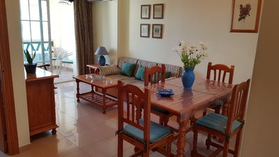 Photo for Apartment Nerja center with parking space, air conditioning and wifi