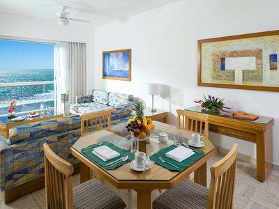 Photo for One bedroom condo at beach front Sea Garden resort