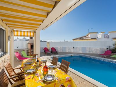 Photo for This 2-bedroom villa for up to 6 guests is located in Albufeira Centre and has a private swimming po
