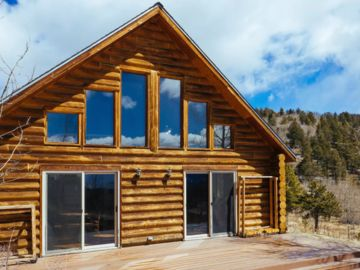 Experience Colorado! Beautiful Log Cabin Surrounded By Pines And Aspens