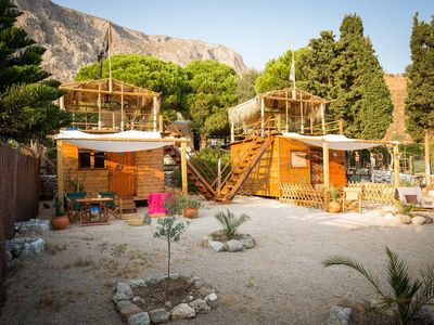 Photo for The Black Pearl: Luxury Pirate Beach Chalet-Cabins