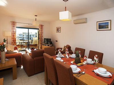 Photo for Luxury 2 Bedroom/ 2 Bathroom Penthouse, AirCon, WiFi, Sat TV, Balcony, BBQ, Close to Beach & Sea.