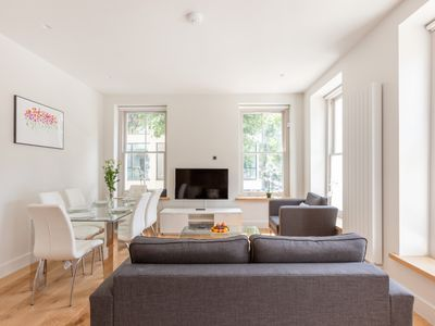 Photo for LOVELY 3BR FLAT IN THE HEART OF FITZROVIA – SOHO