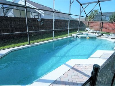 Photo for 4-Bed Disney Pool Home*Games Room*Spa*Fenced Yard!!