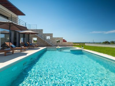 Photo for Amazing luxury villa with private pool & sea view